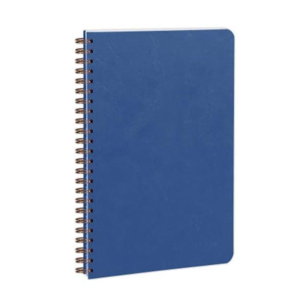 Clairefontaine Wirebound Ruled Notebook in Blue - 3.5 x 5.5 Notebook