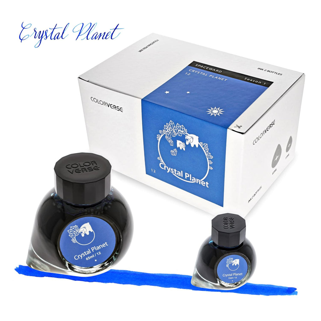 Colorverse Spaceward Bottled Ink in Crystal Planet - Set of 2 Bottled Ink