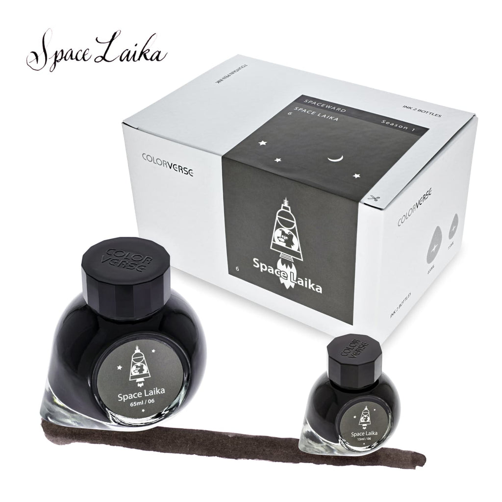 Colorverse Spaceward Bottled Ink in Space Laika - Set of 2 Bottled Ink