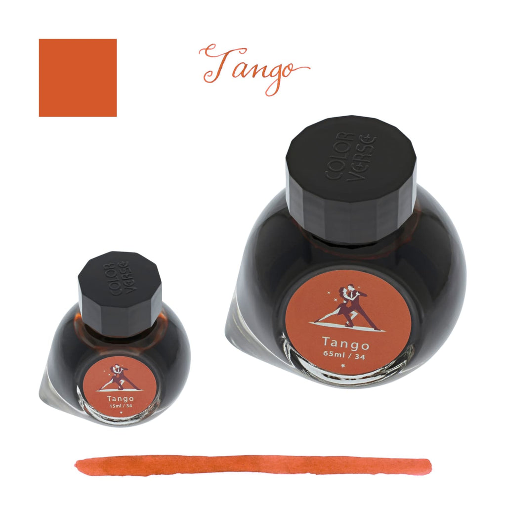 Colorverse x Opus 88 Bottled Ink in Tango (Koloro Red) - Set of 2 Bottled Ink