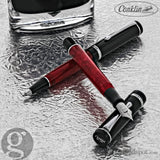 Conklin Duragraph Ballpoint Pen in Red Nights Pen