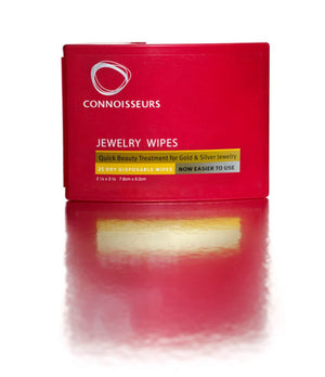 Connoisseurs Silver & Metal Care Pen and Jewelry Wipes Cleaner Accessory