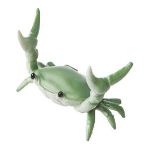 Crab Pen Holder in Green Accessory