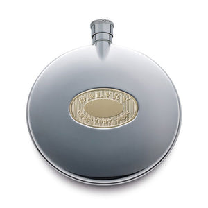 Dalvey Desktop Classic Flask in Gold Accessory
