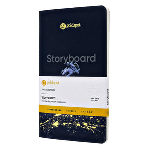Endless Storyboard Goldspot Exclusive Pocket Notebook - 5.9 x 3.5 in. Notebook