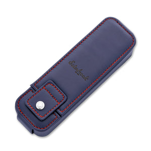 Esterbrook Double Pen Nook Case in Navy Pen Case