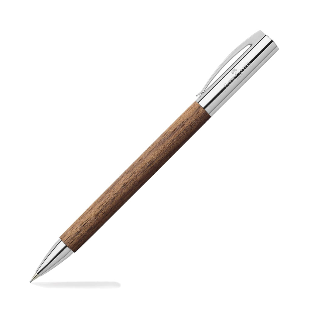 Faber-Castell Ambition Mechanical Pencil in Walnut - 0.7mm Mechanical Pencil