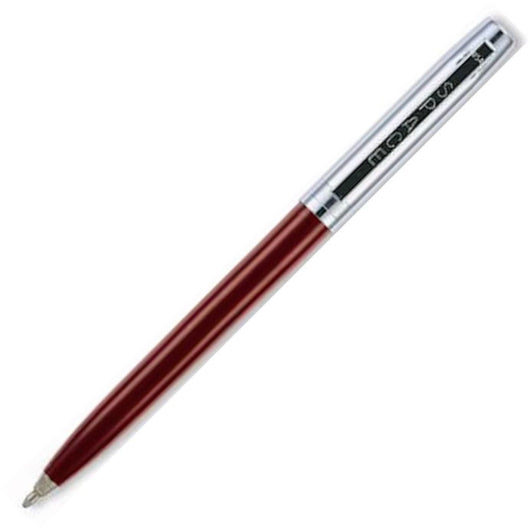 Fisher Space Cap-O-Matic Ballpoint Pen in Burgundy with Chrome Trim Ballpoint Pen