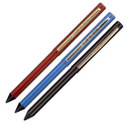 Fisher Space Pen Stowaway Ballpoint Pen - Pack of 3 (Black Red Blue) Ballpoint Pen