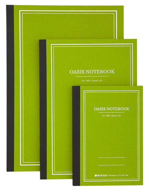 Itoya Profolio Oasis Lined Notebook in Avocado - B5 Notebook