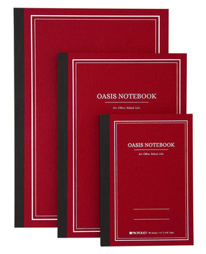 Itoya Profolio Oasis Lined Notebook in Brick - A5 Notebook