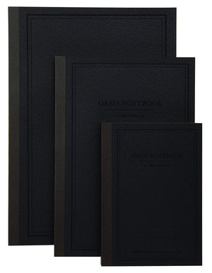 Itoya Profolio Oasis Lined Notebook in Charcoal - A6 Notebook