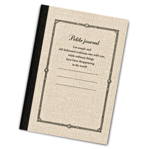 Itoya Profolio Petite Journal in Cream - A7 Journal