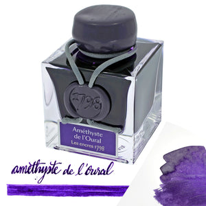 J. Herbin 1798 Anniversary Bottled Ink in Amethyste de LOural - 50 mL Bottled Ink