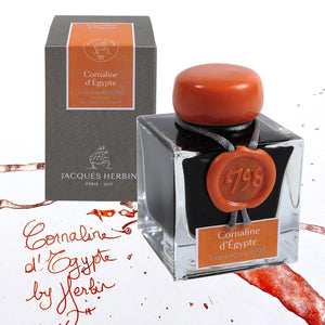 J. Herbin 1798 Anniversary Bottled Ink in Cornaline dEgypte - 50 mL Bottled Ink