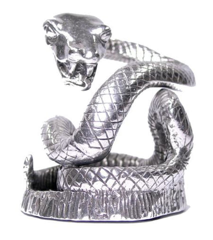 Jac Zagoory Pen Stand in Coiling Snake Accessory