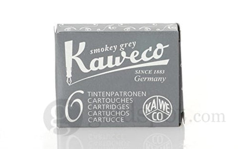 Kaweco Ink Cartridge in Smokey Grey - Pack of 6 Fountain Pen Cartridges