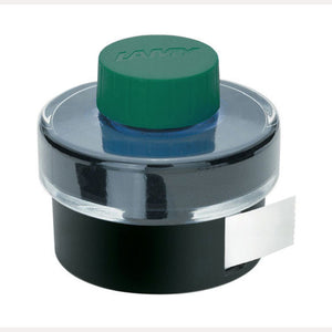 Lamy Bottled Ink in Green with Blotting Paper - 50 mL Bottled Ink