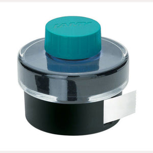 Lamy Bottled Ink in Turquoise with Blotting Paper - 50 mL Bottled Ink