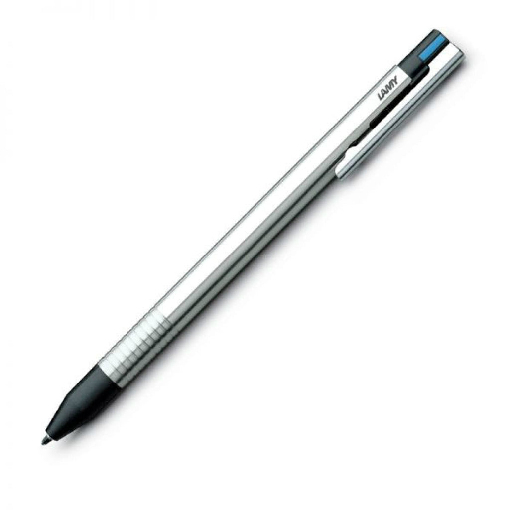 Lamy Logo 3 Color Multi Function Pen in Stainless Steel Multi-Function Pen