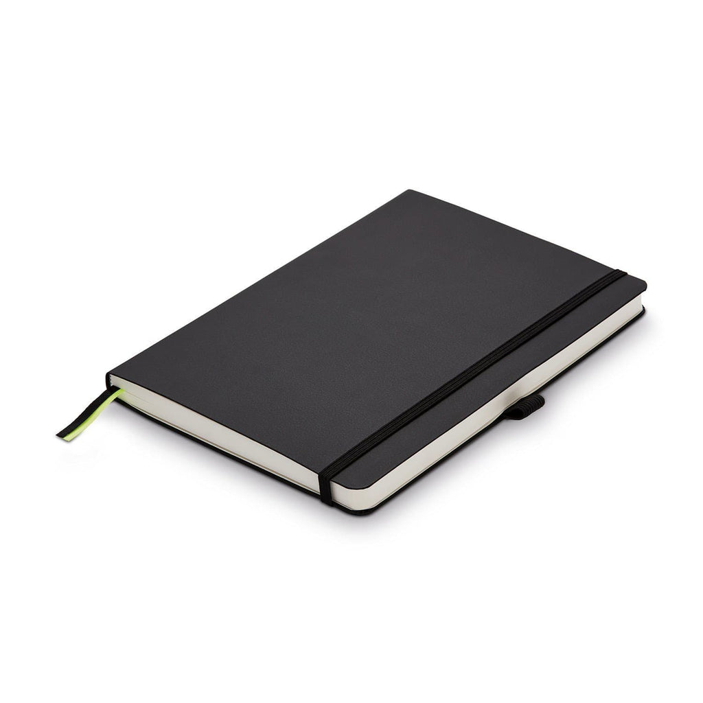 Lamy Softcover Notebook Black A5 - Blank Paper Notebook