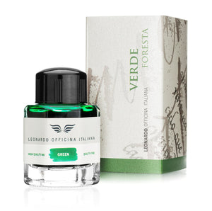 Leonardo Officina Bottled Ink in Forest Green - 40 mL Bottled Ink