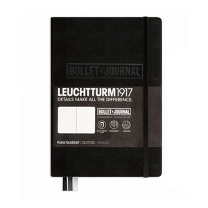 Leuchtturm 1917 Hardcover Bullet Journal in Black - A5 Notebook