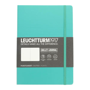 Leuchtturm 1917 Hardcover Bullet Journal in Emerald Green - A5 Notebook