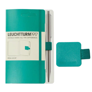 Leuchtturm 1917 Pen Loop in Emerald Green Accessory