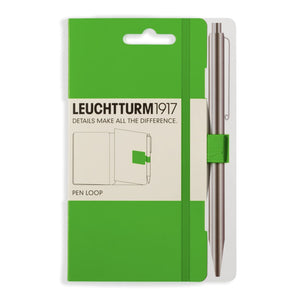 Leuchtturm 1917 Pen Loop in Fresh Green Accessory