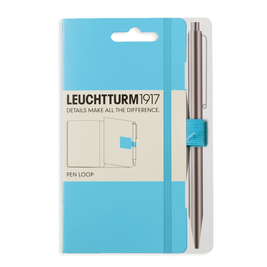 Leuchtturm 1917 Pen Loop in Ice Blue Accessory