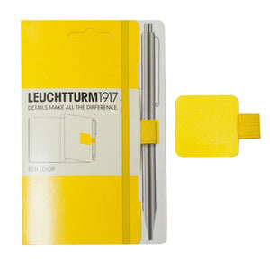 Leuchtturm 1917 Pen Loop in Lemon Yellow Accessory