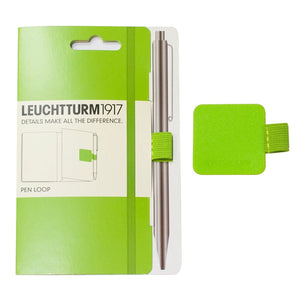 Leuchtturm 1917 Pen Loop in Lime Green Accessory
