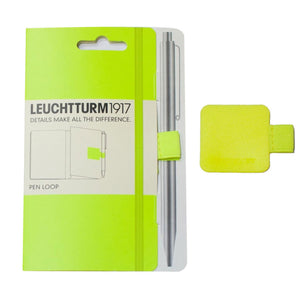 Leuchtturm 1917 Pen Loop in Neon Yellow Accessory
