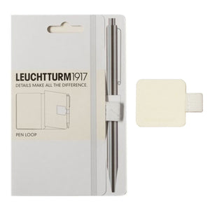 Leuchtturm 1917 Pen Loop in White Accessory