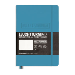 Leuchtturm1917 Hardcover Dot Grid Notebook in Nordic Blue - A5 Notebook