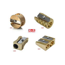 Mobius & Ruppert Pencil Sharpeners in Brass - Set of 4 Styles Accessory