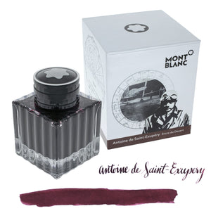Montblanc Antoine de Saint-Exupéry Bottled Ink in Brown - 50 mL - Limited Edition Bottled Ink
