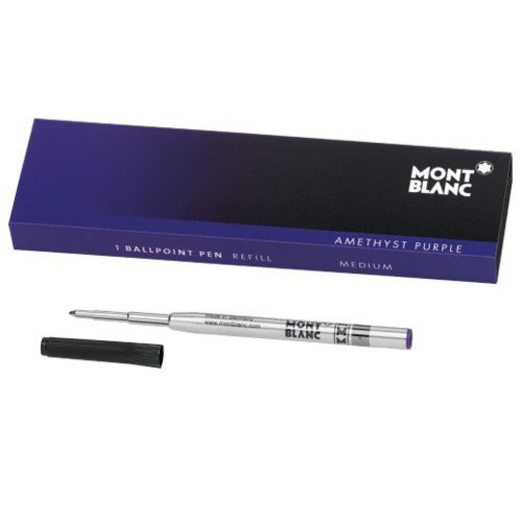 Montblanc Ballpoint Pen Refill in Amethyst Purple - Medium Point Ballpoint Pen Refill