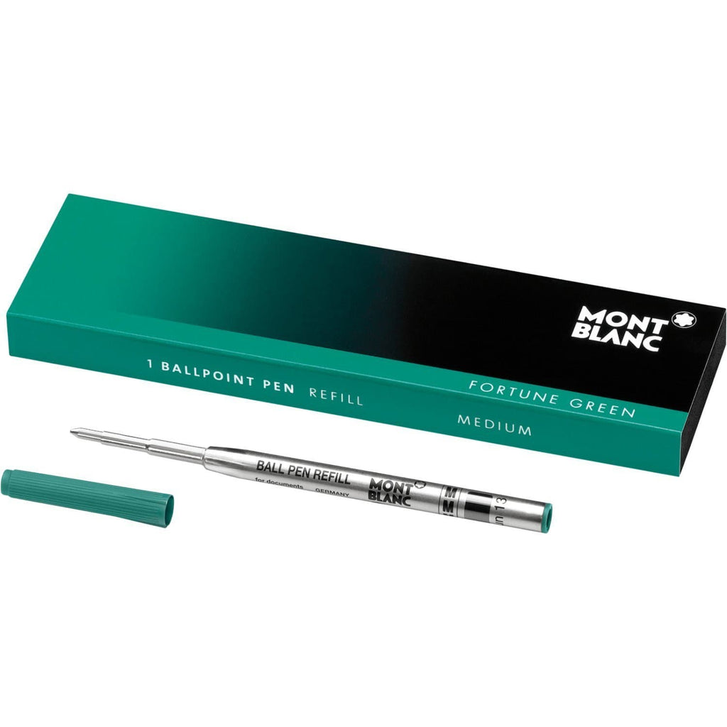 Montblanc Ballpoint Pen Refill in Fortune Green - Medium Point Ballpoint Pen Refill