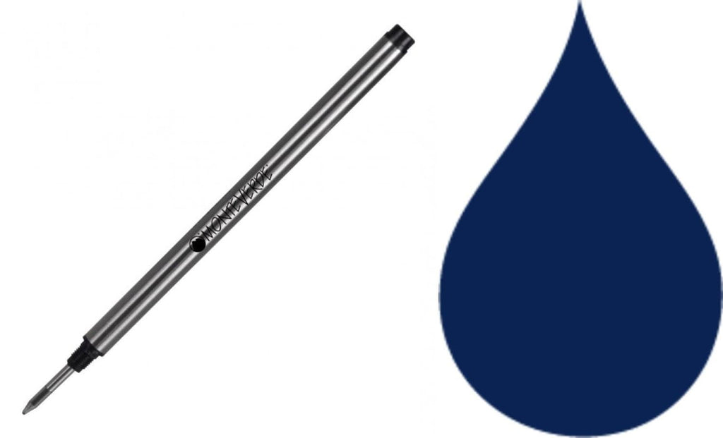 Montblanc Rollerball Refill in Blue/Black - Medium Point by Monteverde Rollerball Refill