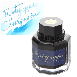 Montegrappa Bottled Ink in Turquoise - 50 mL Bottled Ink
