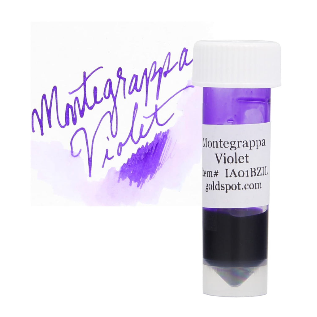 Montegrappa Sample Ink in Violet - 2 mL Bottled Ink