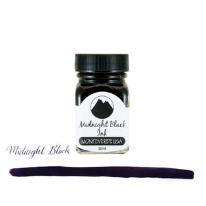 Monteverde Core Bottled Ink in Midnight Black - 30 mL Bottled Ink