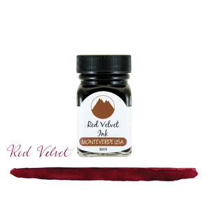 Monteverde Core Bottled Ink in Red Velvet - 30 mL Bottled Ink