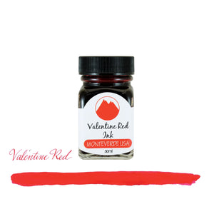 Monteverde Core Bottled Ink in Valentine Red - 30 mL Bottled Ink