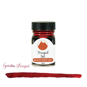 Monteverde Gemstone Bottled Ink in Fireopal - 30 mL Bottled Ink