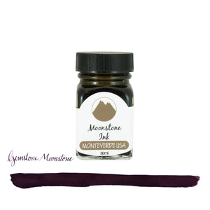 Monteverde Gemstone Bottled Ink in Moonstone - 30 mL Bottled Ink