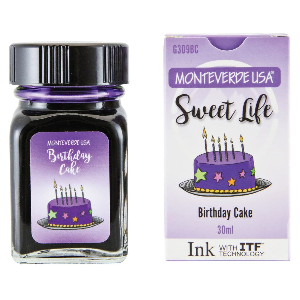Monteverde Sweet Life Bottled Ink in Birthday Cake - 30mL Bottled Ink