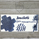 Noodler's Bottled Ink in 54th Massachusetts Bulletproof Legal Blue-Black - 3oz Bottled Ink